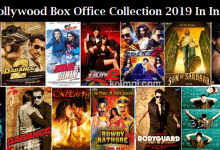 Bollywood Box Office Collection 2019 In India