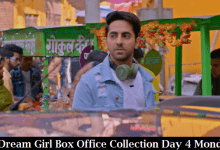 Dream Girl Box Office Collection Day 4 Monday