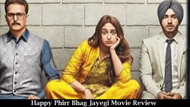 Happy Phirr Bhag Jayegi Movie Review