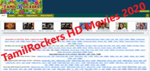 TamilRockers HD Movies 2020